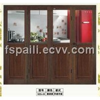 Four-Star Aluminium Big Folding Door SZG-03