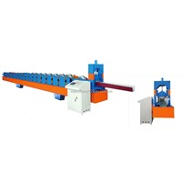 Gullet roll forming machine