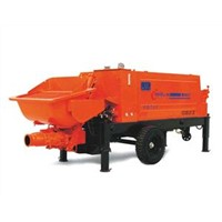 Trailer-Mounted Concrete Pump HBT60