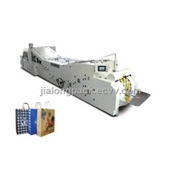 High-Speed Roll Feeding Square Bottom Paper Bag Making Machine