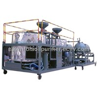 JZS waste truck Engine oil purification device