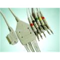 Kanz PC-109 12-Lead EKG Cable with Leadwires