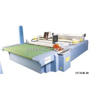 Multi-Layer Garment Computerized die Cutting Room Flat Bed Machine