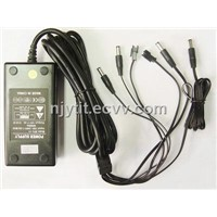 Multi-Point 12V4A Power Adaptor