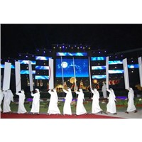 P40 Curtain Wall LED Display Board Large Screens Rental Sign Electronic