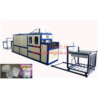 PS Lunch Box Vacuum Forming Machine