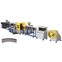PVC Screw Thread Colored Plastic Shower Pipe Production Line