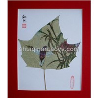 Painting on Leaves (AC082)