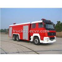 STEYR Double Rear Axle Water Fire Truck