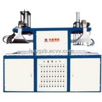 Semi-Automatic Double Station Vacuum Forming Machine