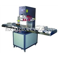 Single Head Push Plate High Frequency Welding Machine