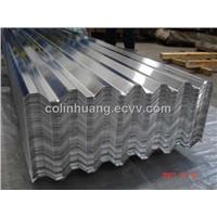 Solid Corrugated Aluminum Sheet