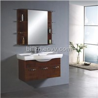 Solid Wood Cabinet, Bathroom Cabinet