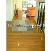 Solid Bamboo Flooring Carbonized Horizontal Matte