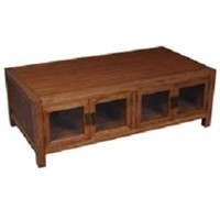 Solid Wood Furniture, 8 Door Coffee Table