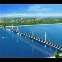 Steel Cable Stayed Bridge