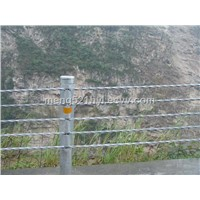 Steel Wire Rope Barrier