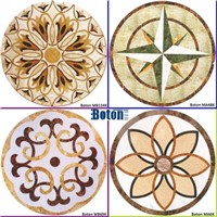 Stone Mosaic,Medallion,Water Jet,Artificial Marble,Granite Pattern