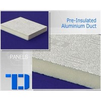 TD PIR Pre-Insulated Aluminum Duct with Coating and Glue
