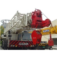 Used 100 Ton Demag Mobile Crane