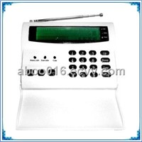 Wireless & Wired Alarm with LCD Display