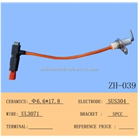 ZH-039A Piezo Ignitor And Ignition Electrode