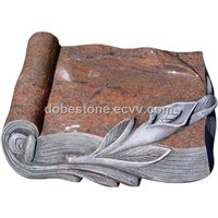 Book Shape Granite Mbstone