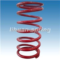 Coil Spring with Surface Coating