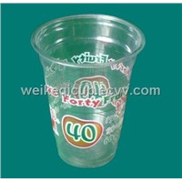 Disposable PET Plastic Cup