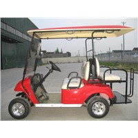 CE approved Electric Golf Cart  2 seats plus with Flip Flop Seat