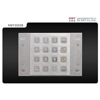 Industrial Keypad with Waterproof and Vandal Proof