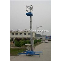 single mast lifts,mastlifts,push around mast lifts,aerial lifts
