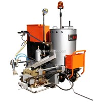 Thermoplastic Spray Lroad Ine Machine
