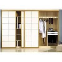 Wardrobes with Removable Glass Door, Build-In Closet