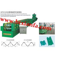 xf500 high-speed guardrail roll forming machine