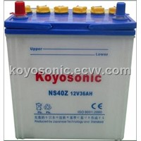 Dry charge car battery-N100-12V100AH