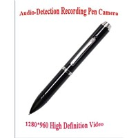 Audio-Detection Recording 8G Pen Mini DV Camera