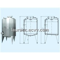 Dual-Layer Storage Tank with Mixer