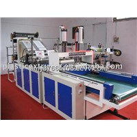 High-Speed Automatic T-Shirt Bag Making Machine