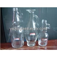 Glass Bottle With Handle