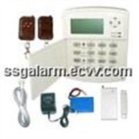 40 Zone LCD Display Voiced Intelligent Burglar Alarm System / Zone Alarm