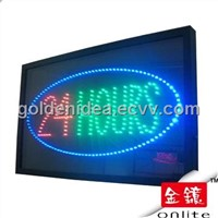 24 Hours LED Sign