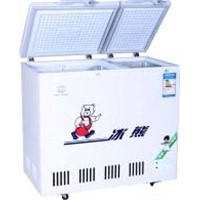 268L Glass Door Chest Freezer