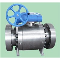 3pcs Trunnion Type Ball Valve
