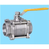 3 PC Full Bore Stainless Steel Ball Valve (1000PSI)
