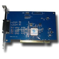 4 Video 2 Audio Surveillance Software Card for CCTV System