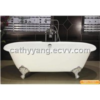 Cast Iron Classical Clawfoot Bathtub