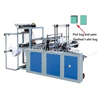 Computer Control Two-Layer And Four-Line Plastic Bag Making Machine
