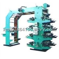 Eight-Color Stack Type Flexographic Printer/Flexographic Printing Machine