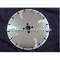 Electroplated Diamond Blades with Flush Holes